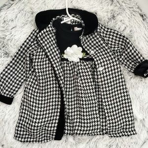 Girls Formal Winter Dress Set